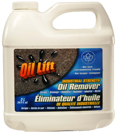 Oil stain remover from driveway save the oceans inc for Driveway stain remover