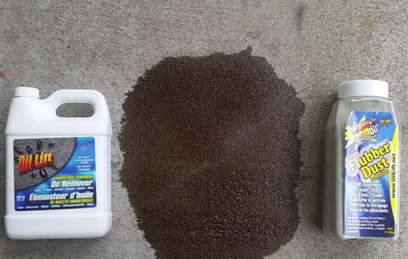 Bundle Offer Oil Lift Stain Remover And Flubber Dust